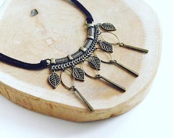 "Necklace ""Autumn leaves"""
