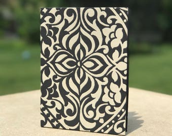 Handmade Black and White Journal