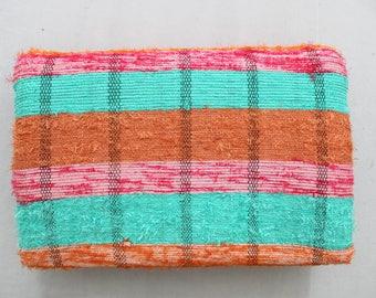 Handmade Hand woven Chindi Area Rugs Rectangular Carpet Durrie Recycled Bohemian Beach Garden Yoga Mat Indian Floor Kilim Counterpane I616