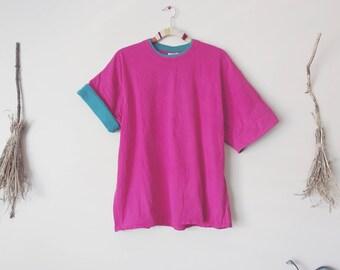 Pink Crop Top T-Shirt