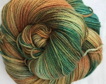 Bad Penny - Superwash Blue Faced Leicester, Silk & Cashmere Splendiferous Sock 100g