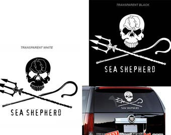 3D Stickers 17.8*12.8cm Sea Shepherd Jolly Rogers Car Styling Sticker Funny Reflective Car Stickers and Decals