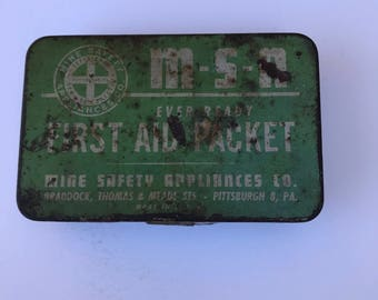 Snake Bite Kit, Vintage Medical Supply,