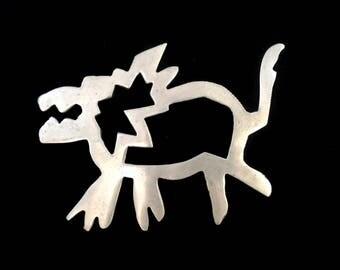 Scandinavian Artistic Aluminum Wolf