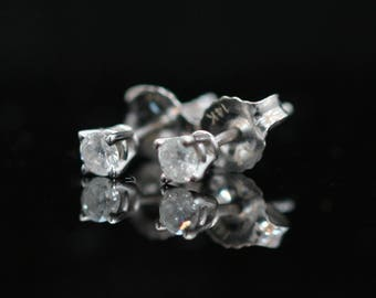 CLEARANCE 14k White Gold 0.25ct Diamond Stud Earrings