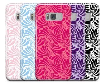 Samsung Galaxy Case, Galaxy S8 Case, S8 Plus Case, Galaxy S7 Case, S6 Case, Galaxy S6 edge Case, iPhone Case, iPhone 7,  Geometric Wave