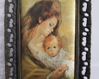 Vintage Wall Decoration Pictures Woman with baby