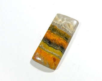 33Cts Bumble bee jasper Cabochon Loose Gemstones Rectangle Gorgeous!!! AAA Top Quality Natural Bumblebee Jasper Stone Bumble bee 36X17X5mm