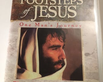 Audio cassettes : In the Footsteps of Jesus by Bruce Marchiano...1997