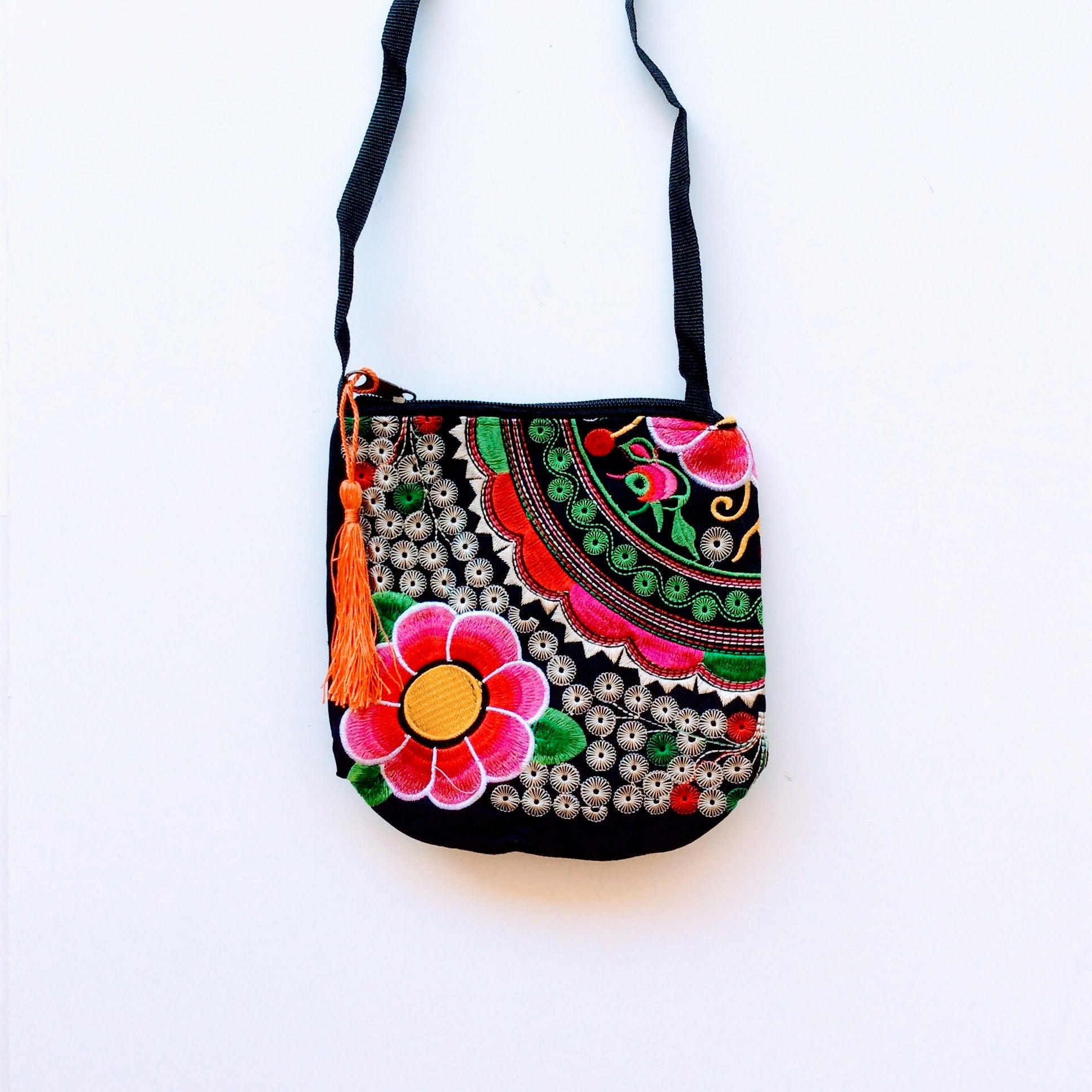 Mexican embroidered bagmexican tote boho