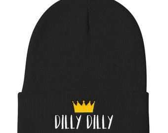 Dilly Dilly True Friend of the Crown Knit Beanie
