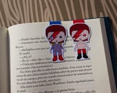 Magnetic bookmarks - David Bowie, Ziggy