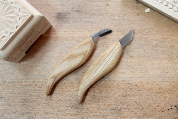 Chip carving knives set wood tools woodcarving