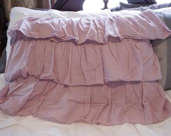Ruffled Pillow Sham