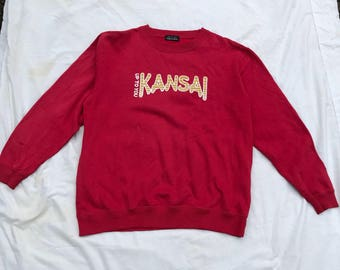 Vtg kansai Yamamoto sweatshirt