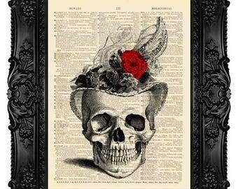 Calavera Skull Wall Art 537