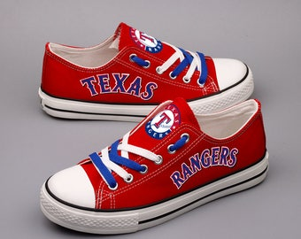 Texas Rangers Womens Tennis Shoes Custom Sneakers