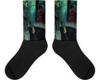 Freddy Vs Jason Socks