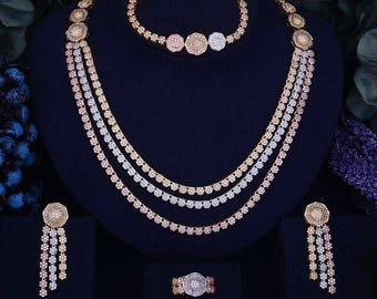 Tritone necklace set