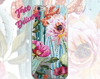 FREE SHIPPING Succulent Phone Case iPhone 7/7+/6/6S/6+/6S+65/SE, Galaxy S8/8+/7/7Edge/6/6Edge/5/Note5/J7Prime, Huawei P8/8PLite/P9/P9Lite