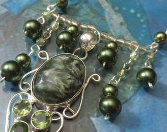 Green Seraphinite Necklace