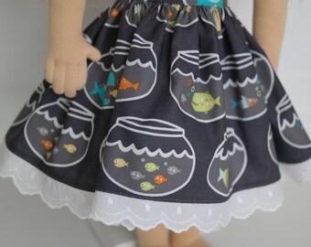 Little Fish DOLL skirt