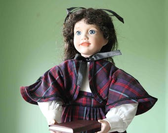 Jo Ashton Drake Little Women Porcelain Doll Wendy Lawton  Excellent condition