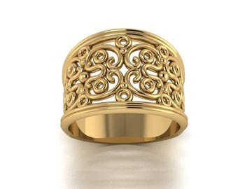 Intricate Gold Band
