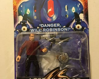 Dr. Smith Lost In Space Vintage Action Figure on Card Trendmasters 1997