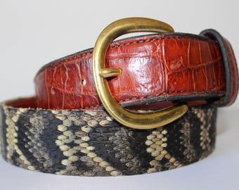1 1/2 Alligator Diamondback Belt
