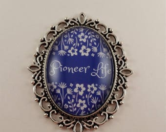 Pioneer Life JW Convention badge card holder with magnetic attachment, JW.org, JW gifts, Jw items, baptism gift