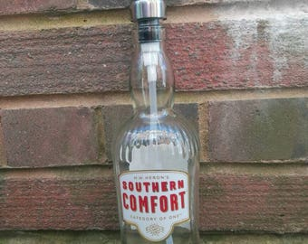 Southern comfort soap dispenser, 70cl southern comfort gift with stainless soap dispenser.