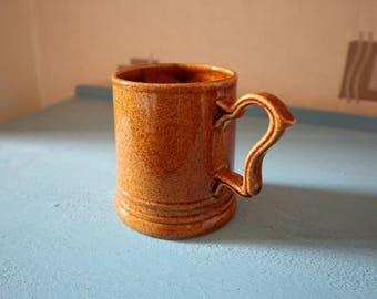 Vintage Earthenware Mug
