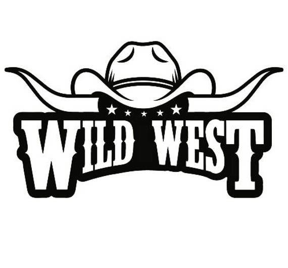 Cowboy Logo #10 Bull Horn Wrangler Horse Country Western ...