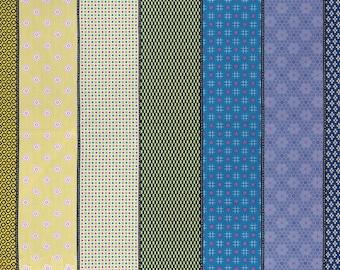 1 yard - Moda-  Lollies Sweetie - Multi Bright - 18130 12 - Jen Kingwell