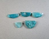 Gem Silica Cabochons / Agatized Chrysocolla Cab / Choice of Cabs