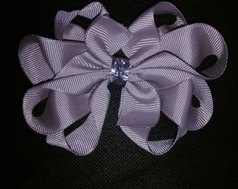 Gray Octopus Bow