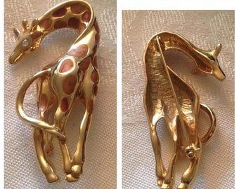 Anniversary Sale Nice Vintage Giraffe Pin