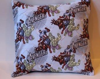 Avengers 14 x 14 Throw Pillow
