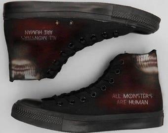 American Horror Story Custom Shoes