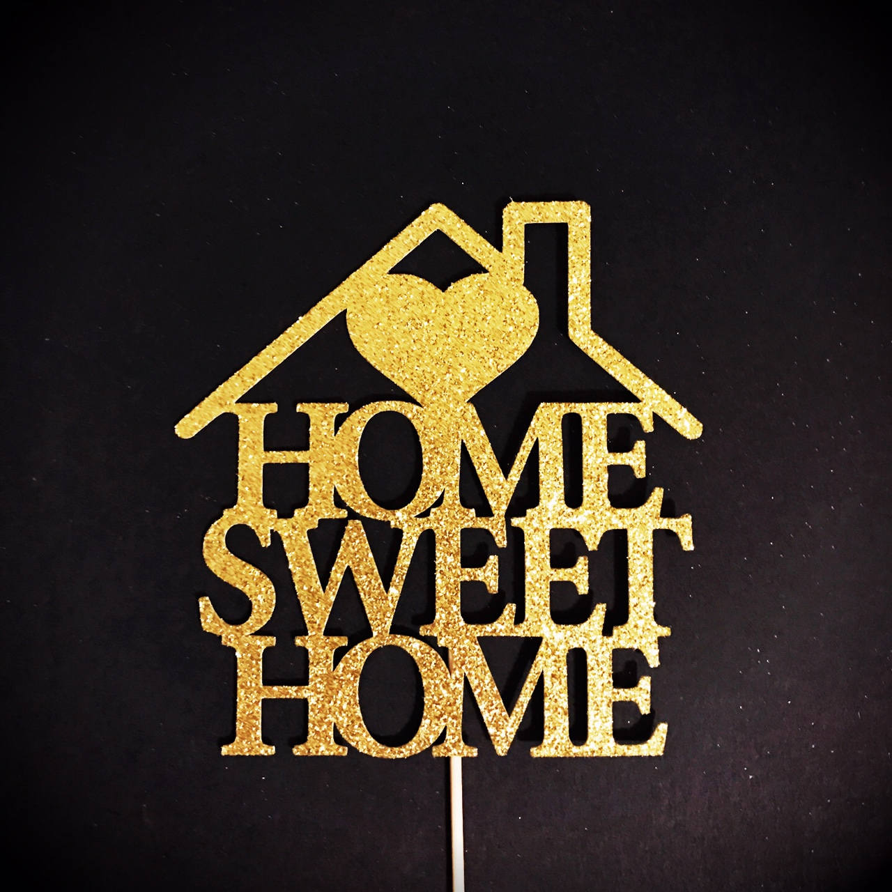 Home Sweet Home Cake Topper New Home Cake Topper Wedding