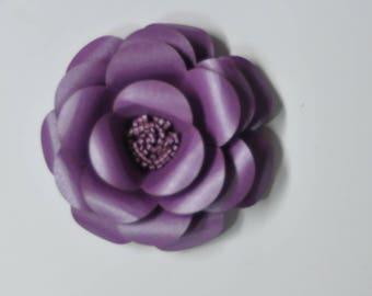 DIY flower kit  cardstock  flower kit  5 mini flower gravity grape