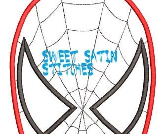Inspired Spiderman Towel topper Applique Design, Spider man Machine Applique Embroidery Design, Applique Embroidery design
