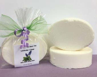 Lavender and Sage Sea Salt Soap Bar