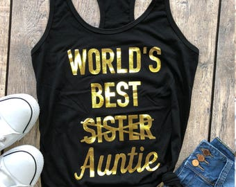 baby announcement shirt, pregnancy announcement shirt, aunt shirt, future auntie shirt, Aunt squad, BAE best auntie ever, gift for aunt