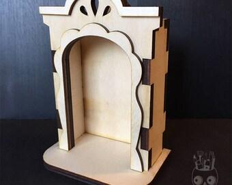 Nicho Box Blank Wood