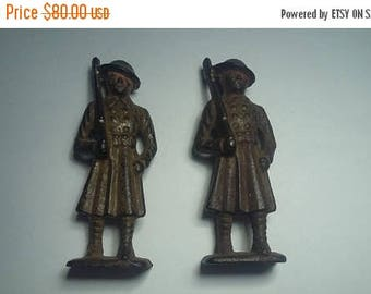 35% Off Antique Cast Iron Soldiers