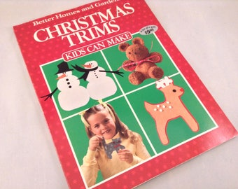 Christmas Kid's Craft Book - Better Homes and Gardens