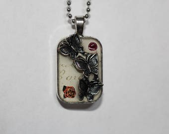 Metal Butterfly Pendent