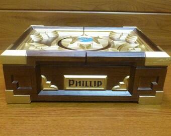 Personalized Hearthstone Box Replica Hearthstone Symbol Hearthstone gift Wooden custom box